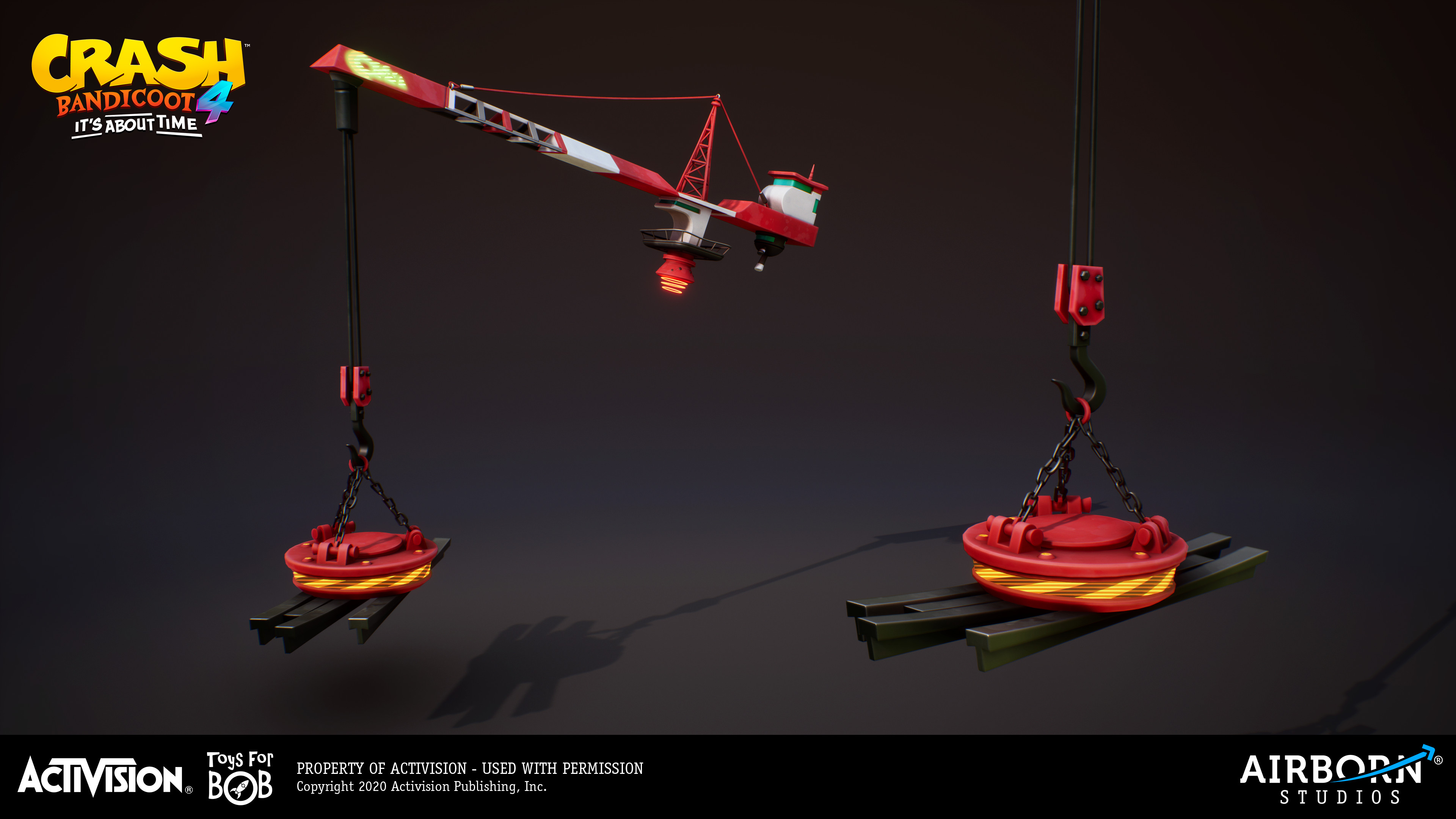 Crane by Frederic Fouque
