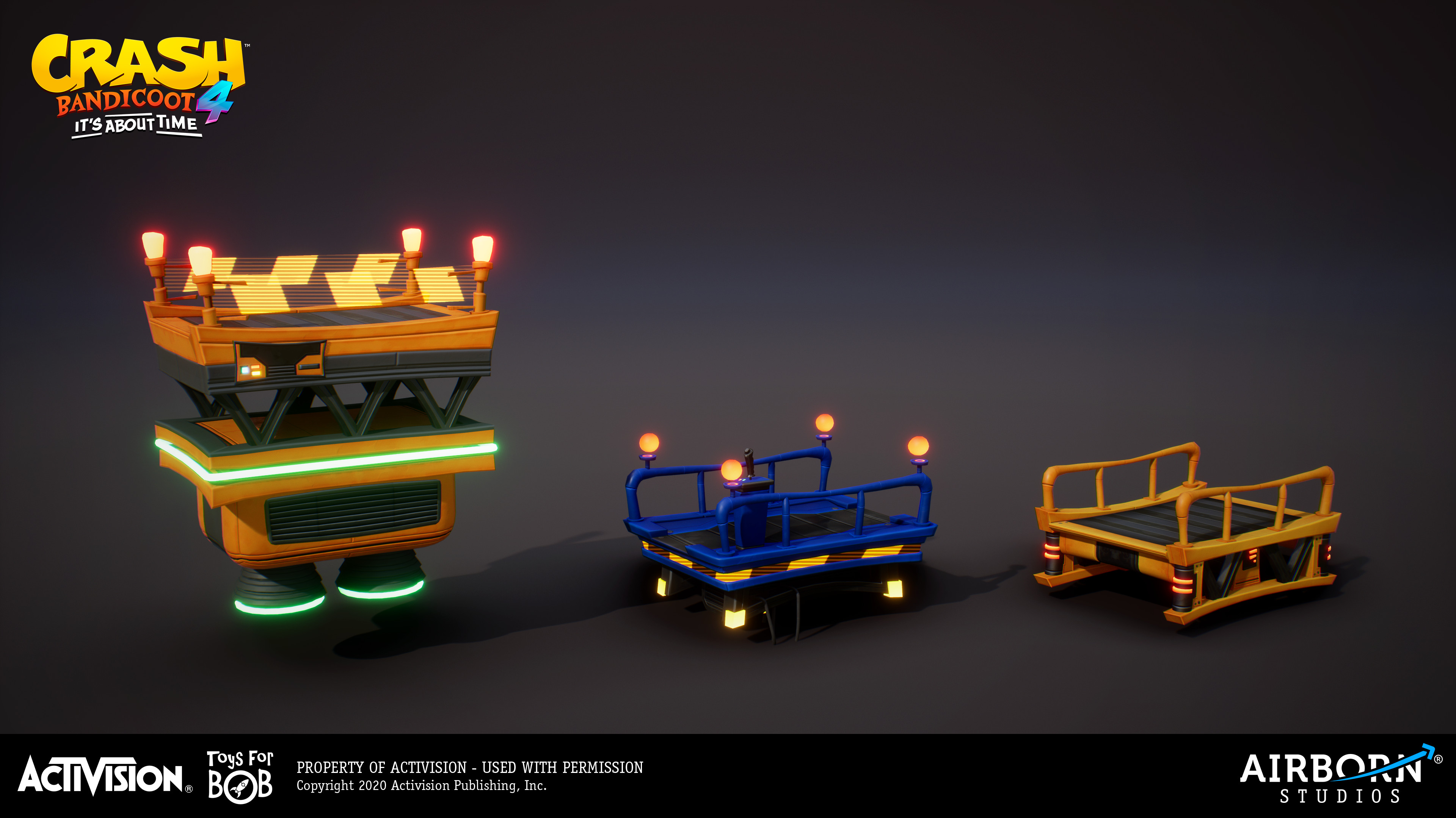 Platforms by Frederic Fouque