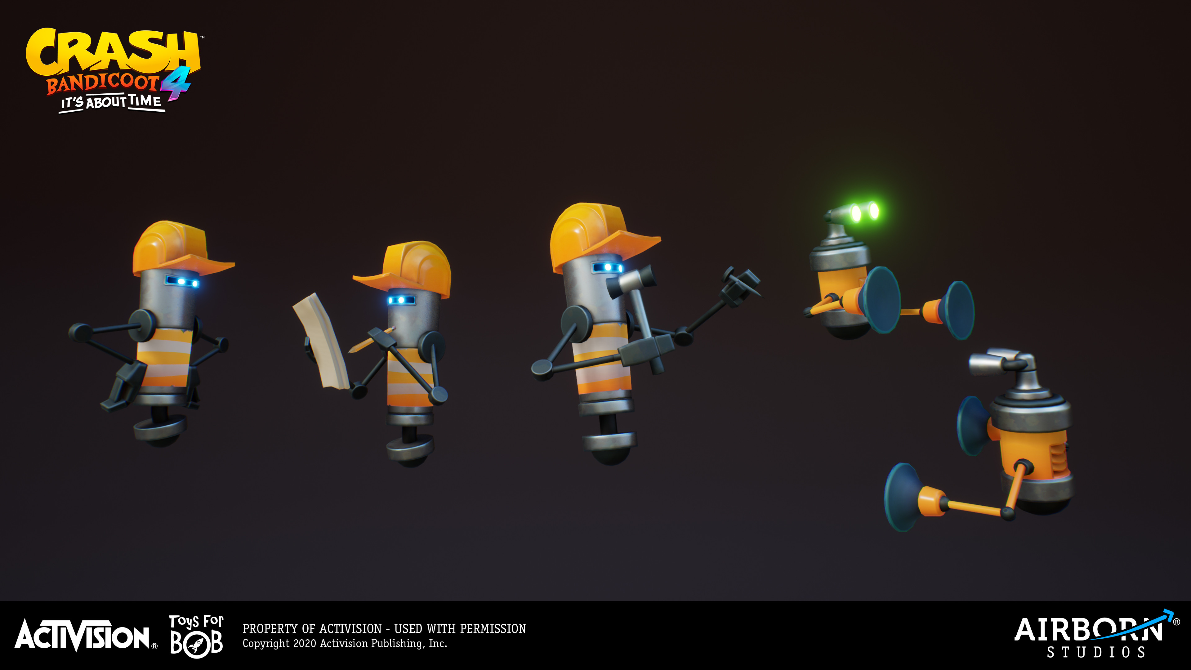 Robot worker by Jonas Kunert