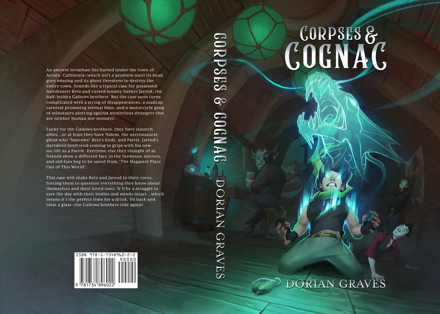 Corpses and Cognac Cover