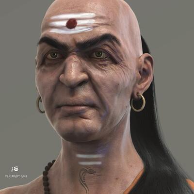 Surajit sen chanakya cg character by surajitsen april2021a1 l