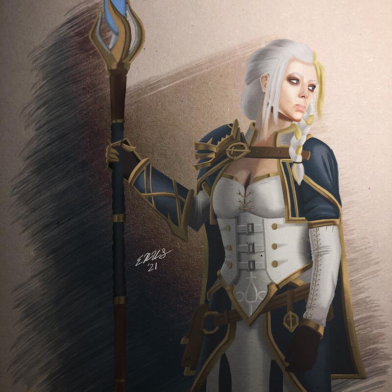 Jaina Proudmoore, Daughter of the Sea