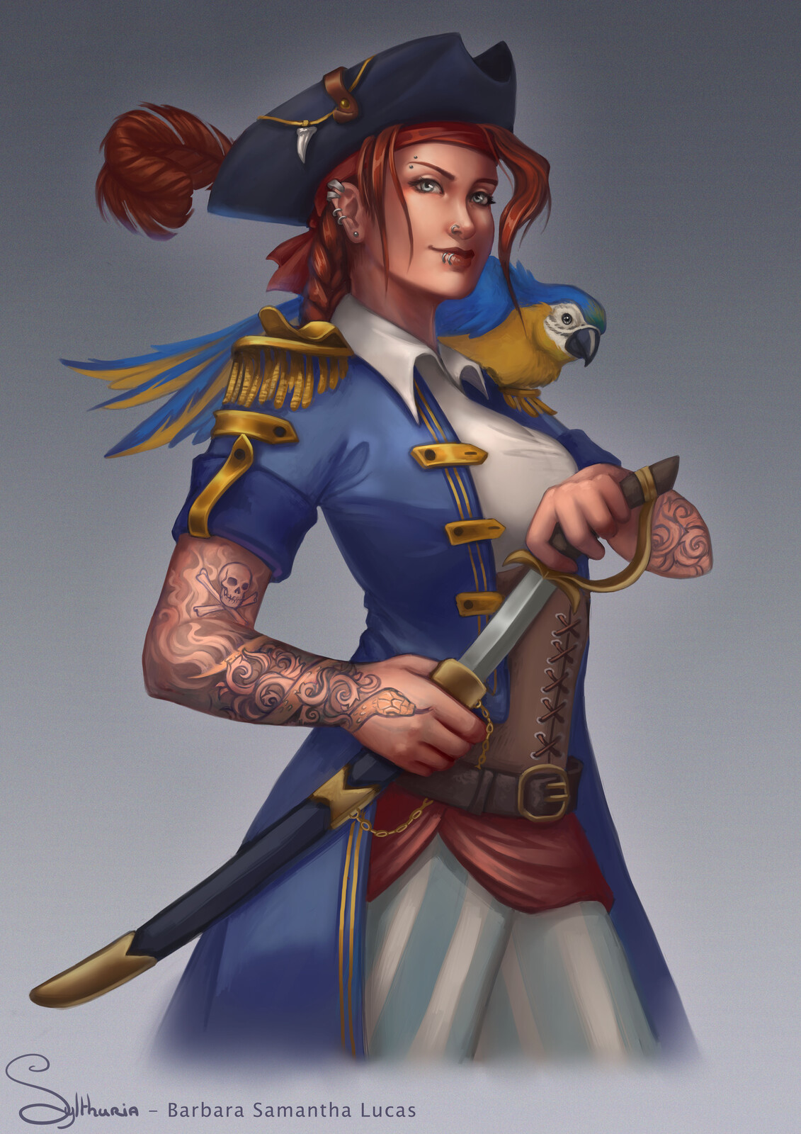 Pirate - Character Design