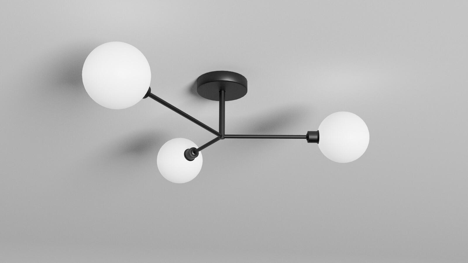 Flush Ceiling Light