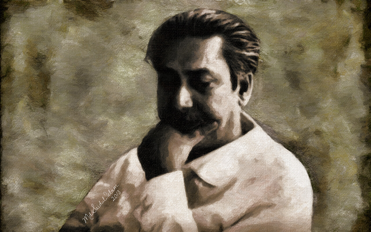 The greatest Bangalee of all time, Bangabandhu Sheikh Mujibur Rahman  License: Creative Commons Attribution-Noncommercial-No Derivative Works 3.0 License