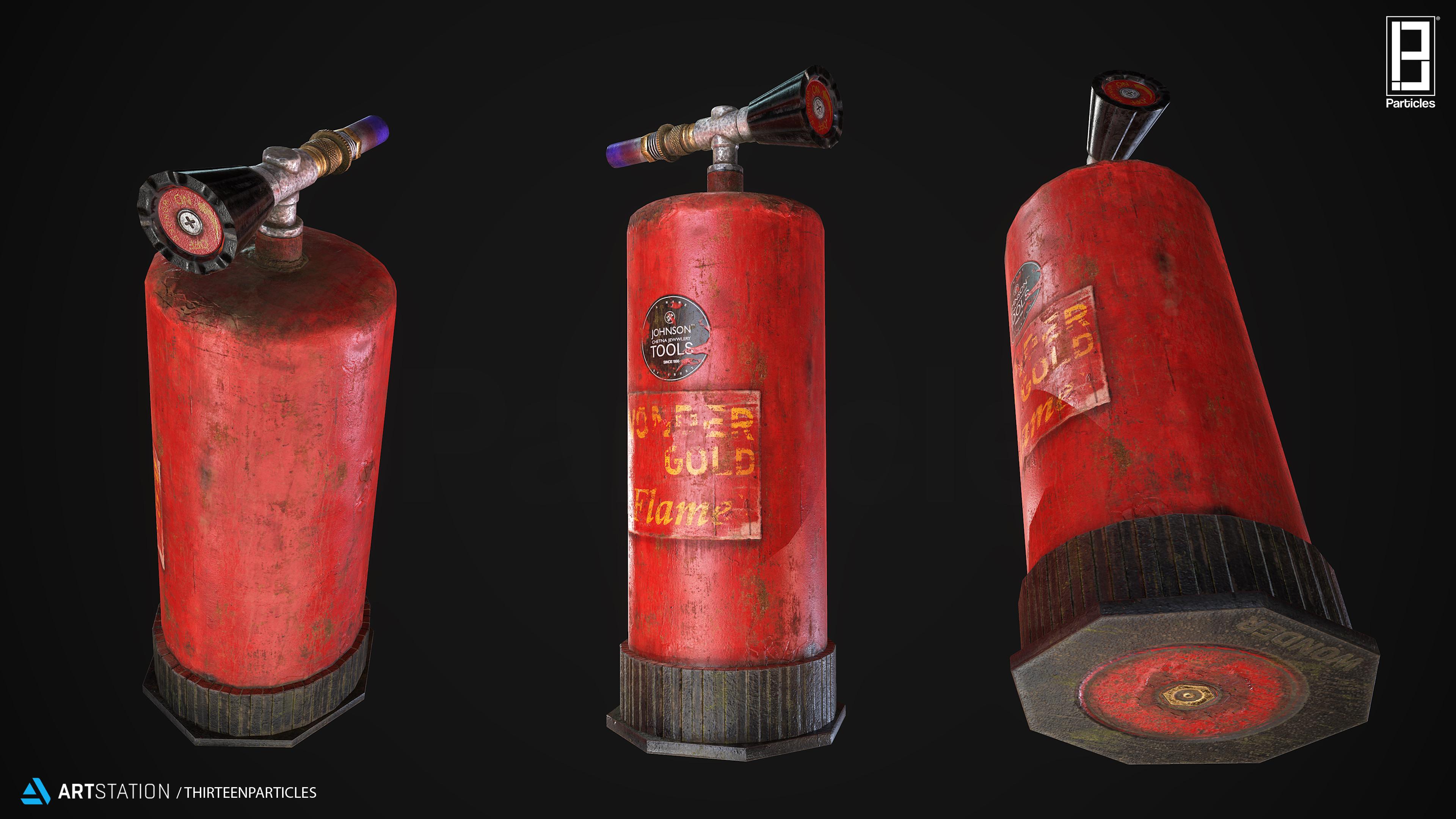 Portable Gas Torch Gun