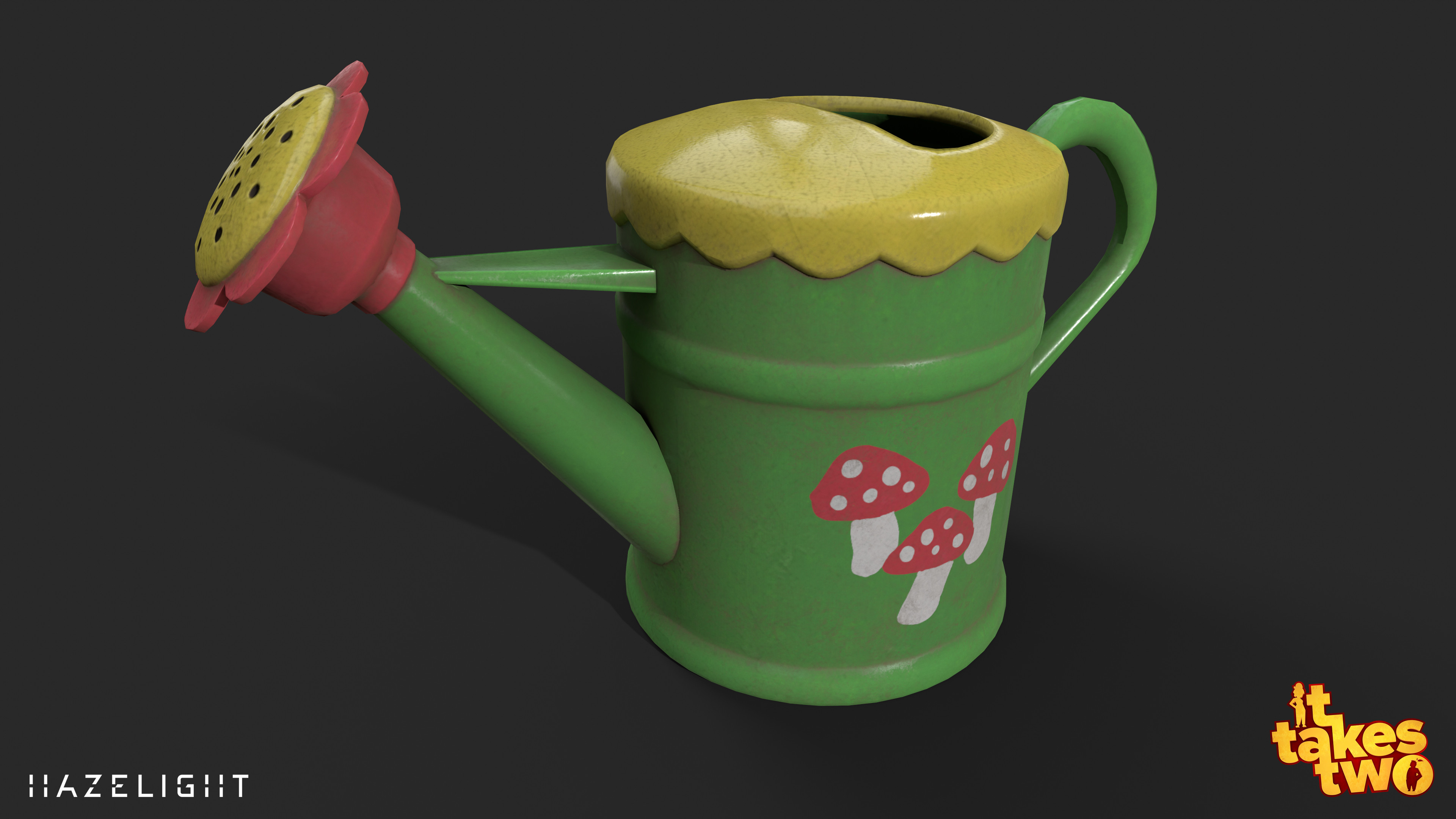 Rose's watering can.