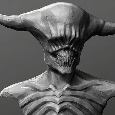 Demon Bust Speedsculpt