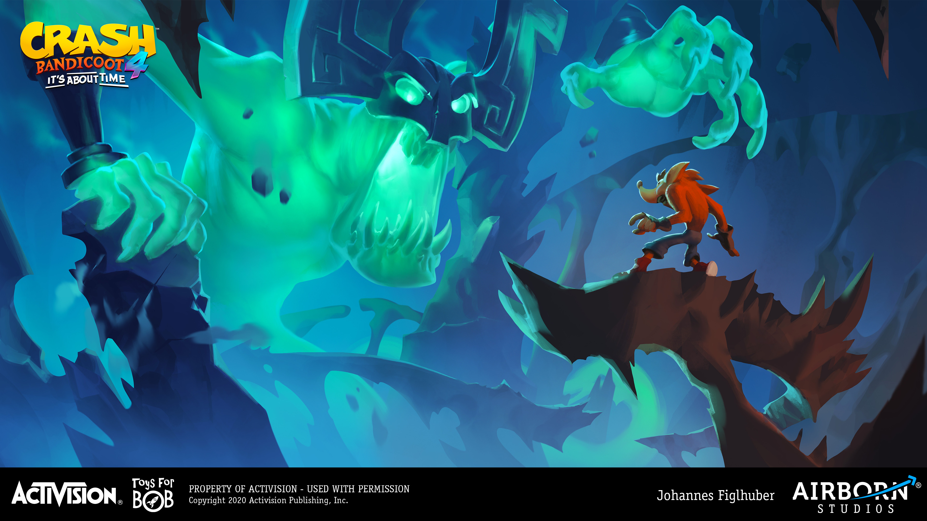 Spirit Encounter ((vis-dev key artwork, co-credit to Nicola Saviori)