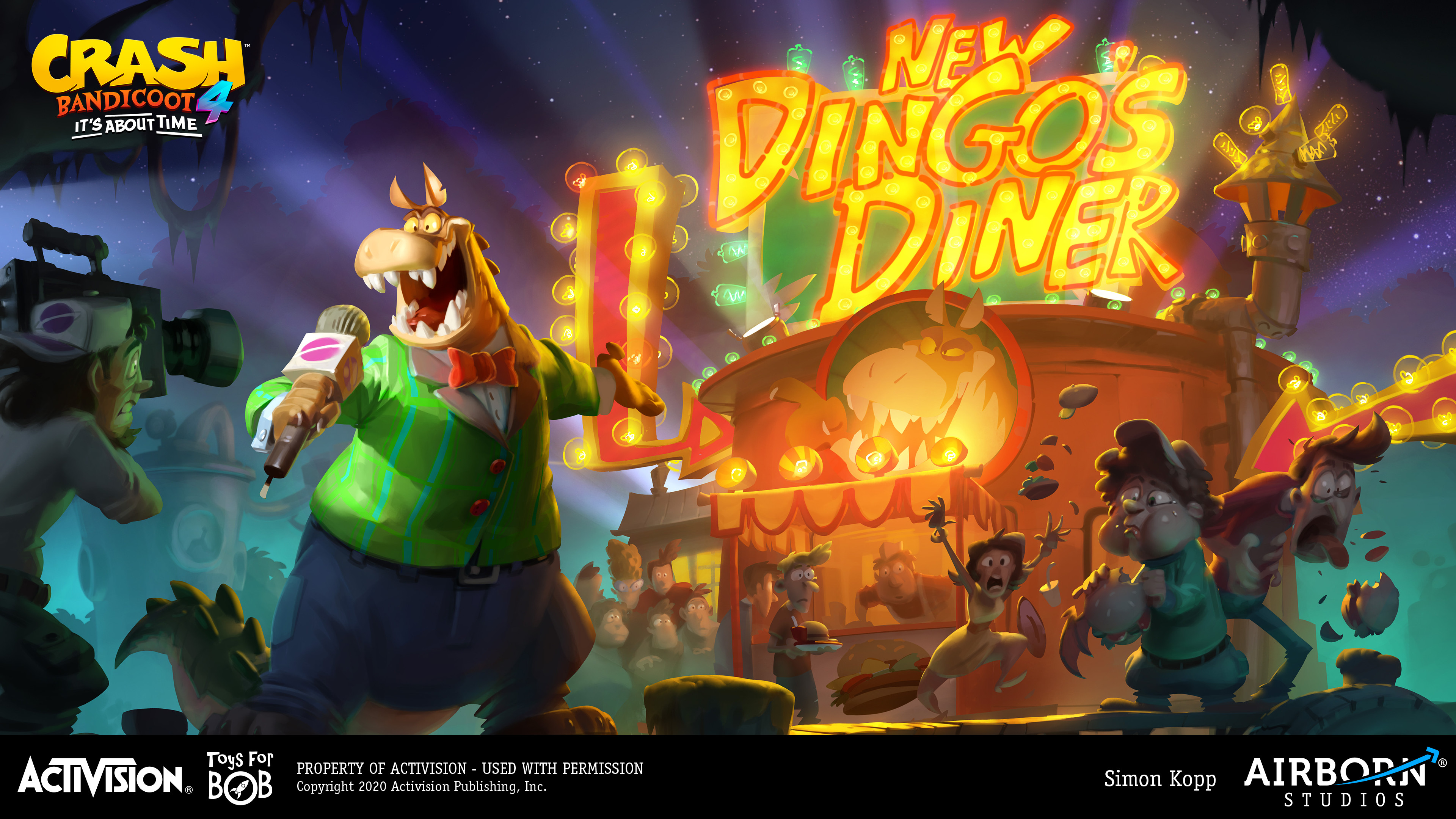 Dingodile (outro artwork)