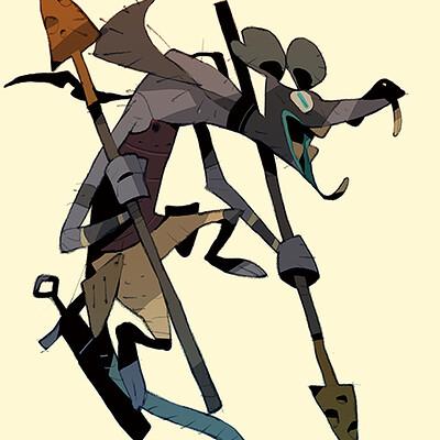 Satoshi matsuura 2021 04 08 rat soldier s