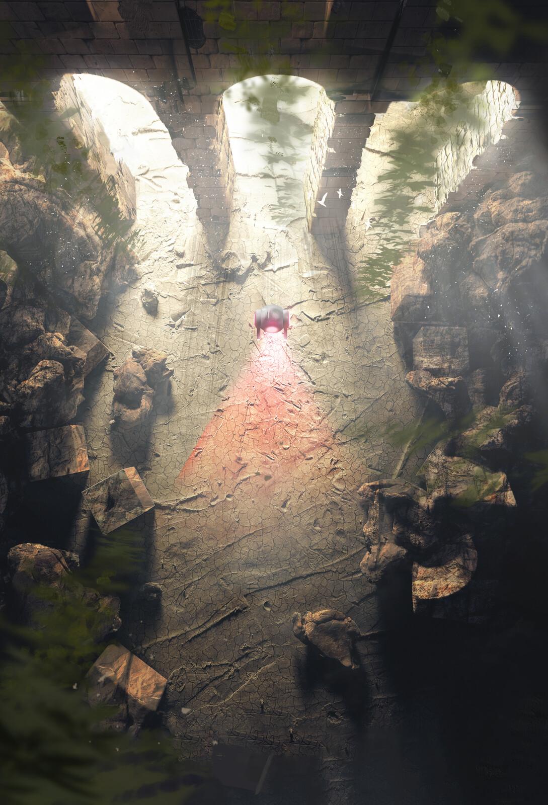 Cave Protectors - Environment design