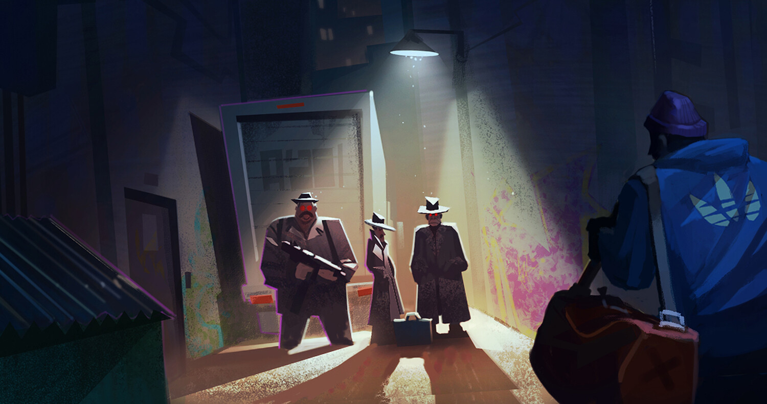 Back Alley Meeting