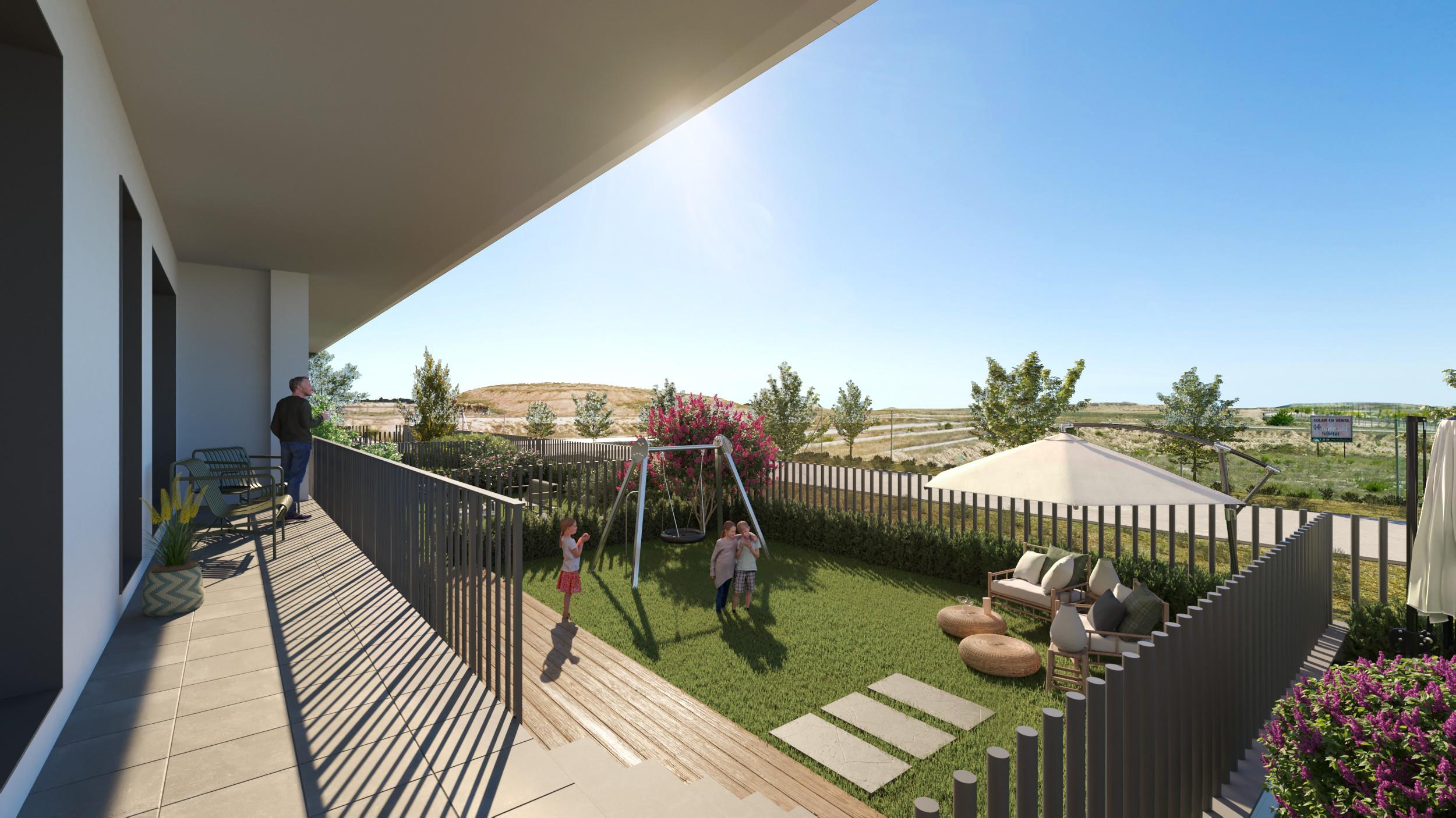 Terraza + Jardín