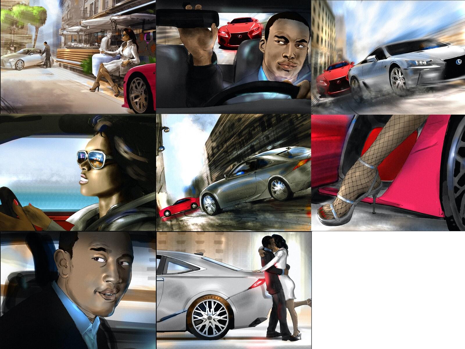 Lexus board.