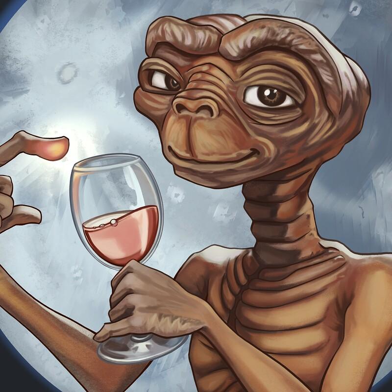 ET, The Wine-Terrestrial