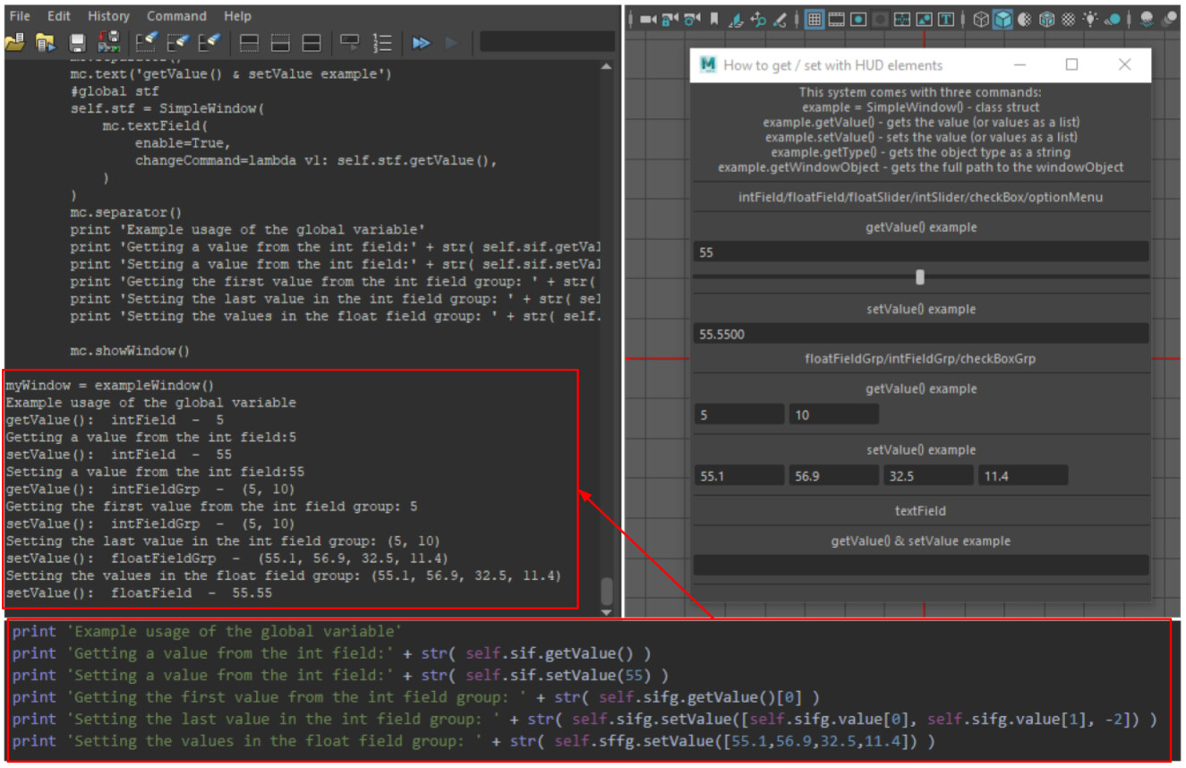 A wrapper for Maya Window Control objects to simplify  & standardize the syntax used for assigning and querying attribute values in Python.  Link in the description.