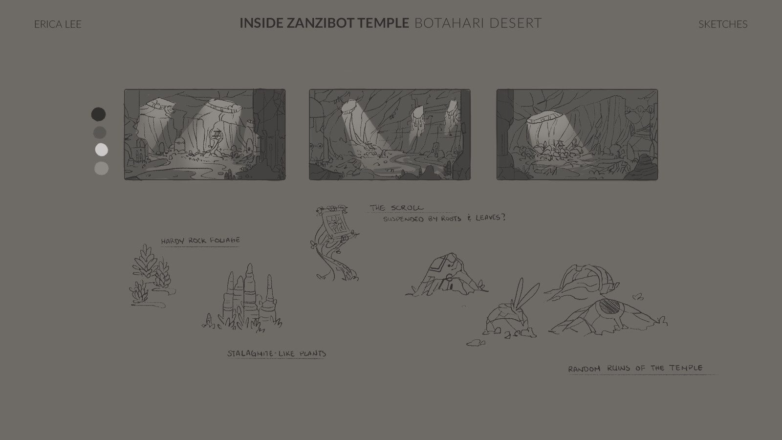 Payoff Screen Sketches