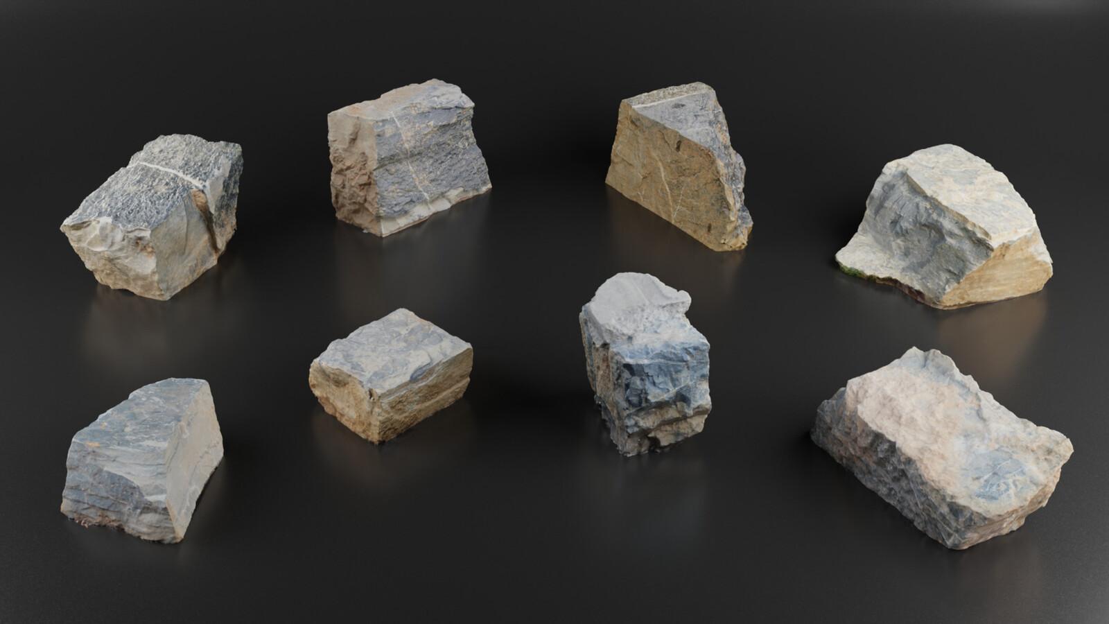 Photo scanned rocks. https://artstn.co/m/NWKL