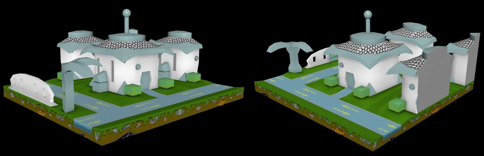 Simple Par'N Town Concept Model