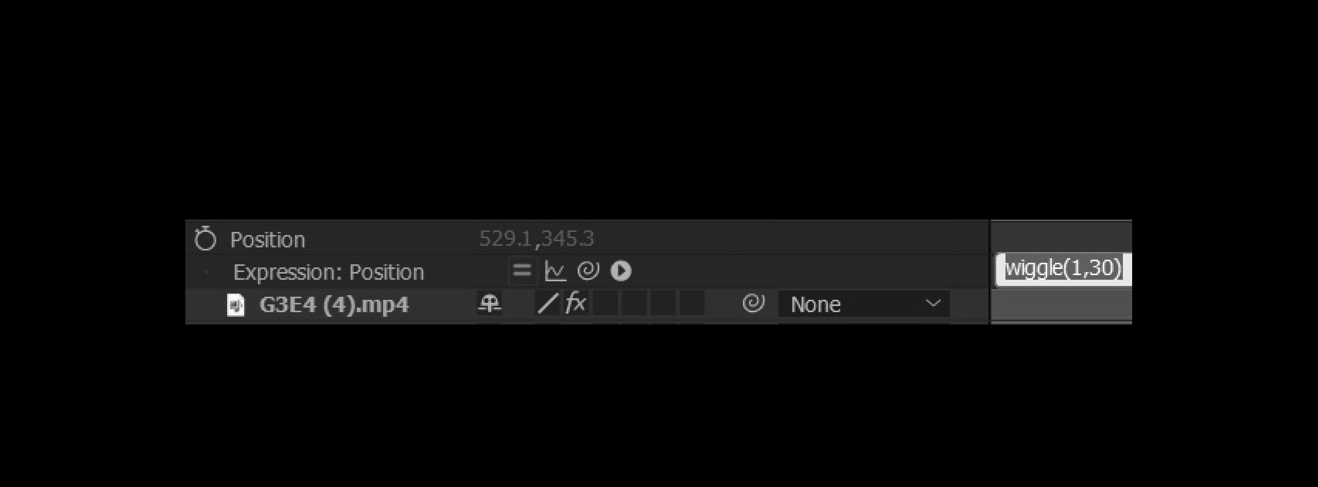 wiggle(1,30) should be a default FILTER in AE CC. 🧨🎇🎃