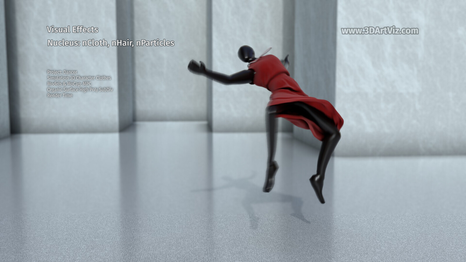 Dress Simulation Project: Dancer