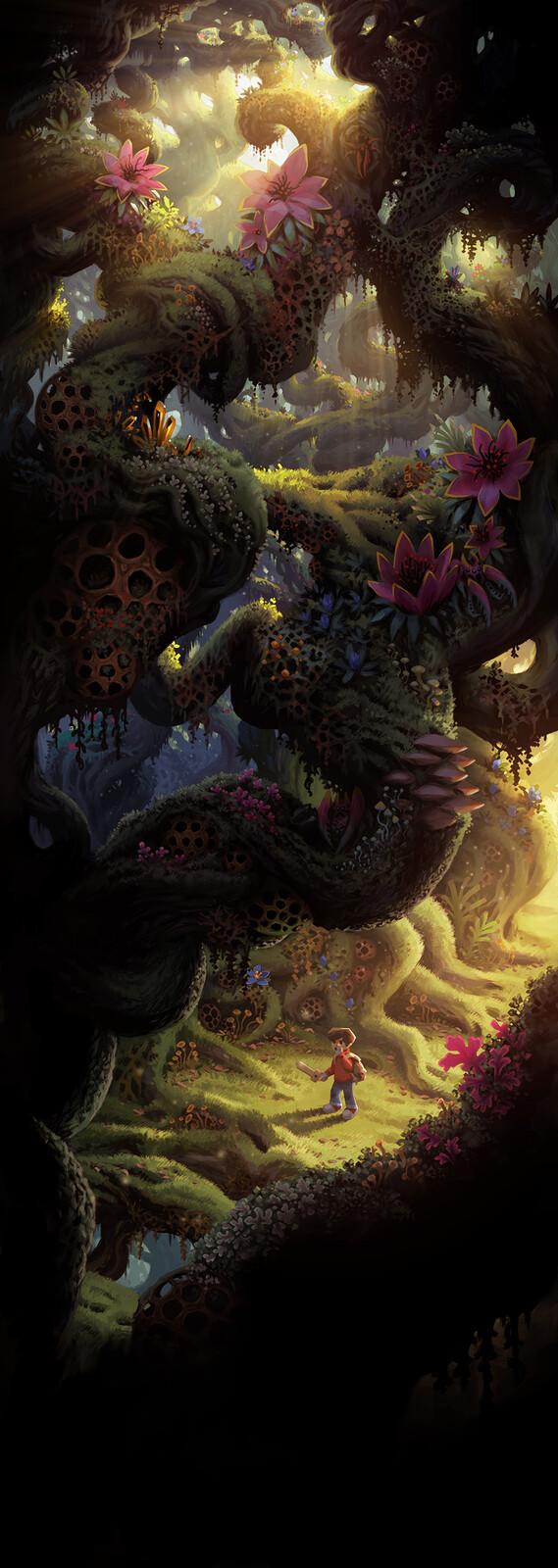 The Wormworld Saga - Chapter 3, Panel 1
