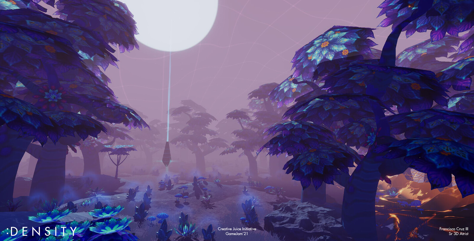 The Prime Forest, outer lava ring can be seen closing in.