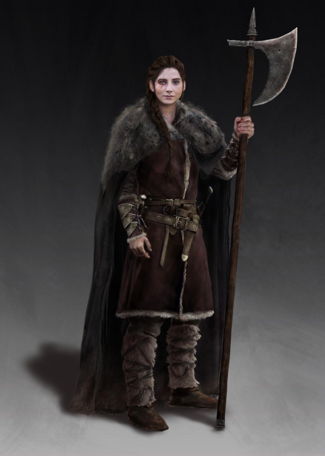 Jana the Mercenary