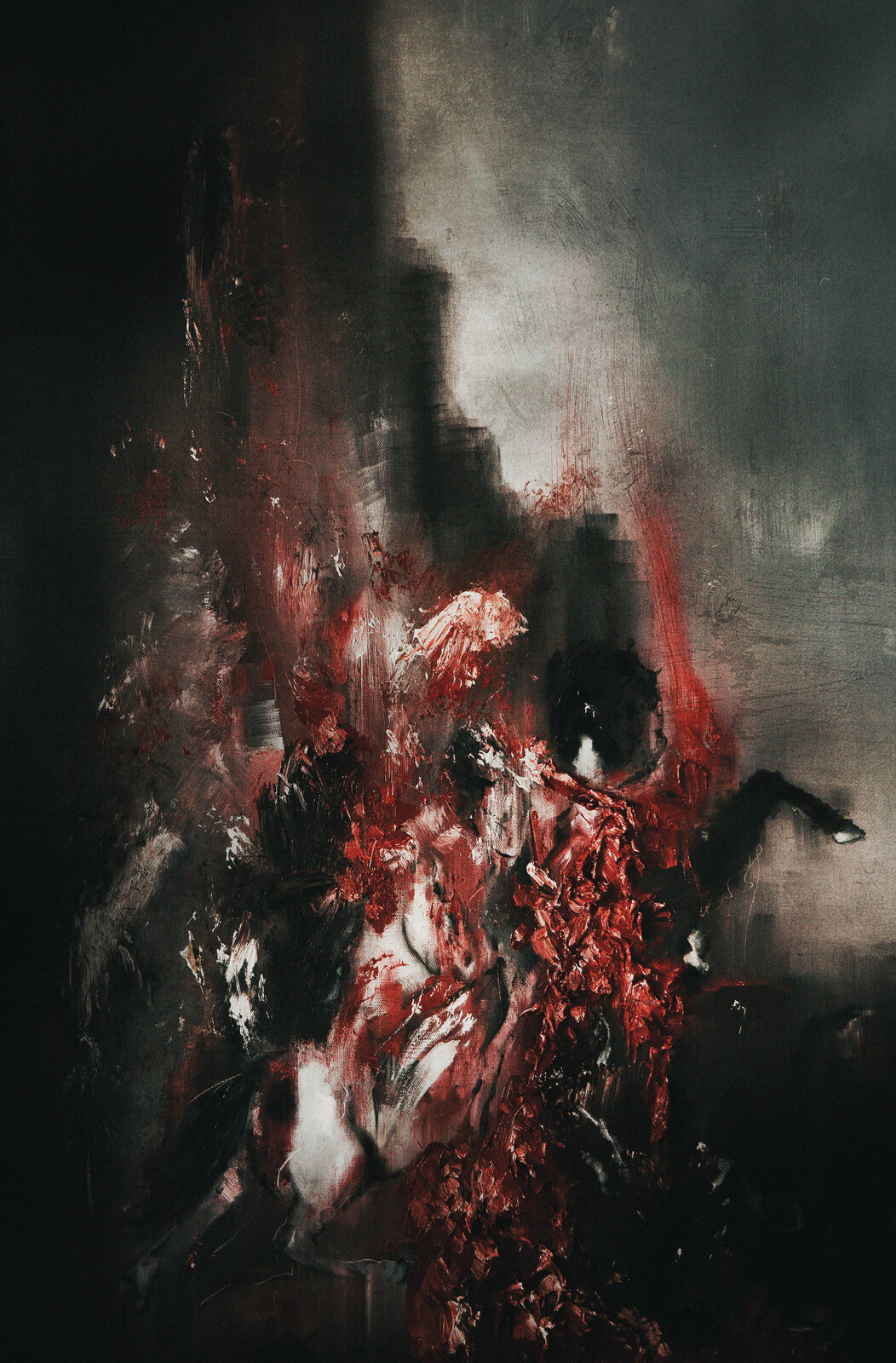 Devoured by Horses (Oils).