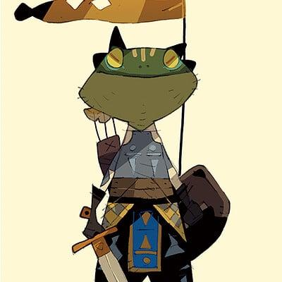 Satoshi matsuura 2021 04 20 frog warrior s