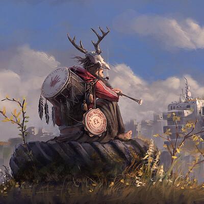 Niklas rhose postapocalyptic shaman 1600