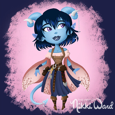 Nikki ward display jester