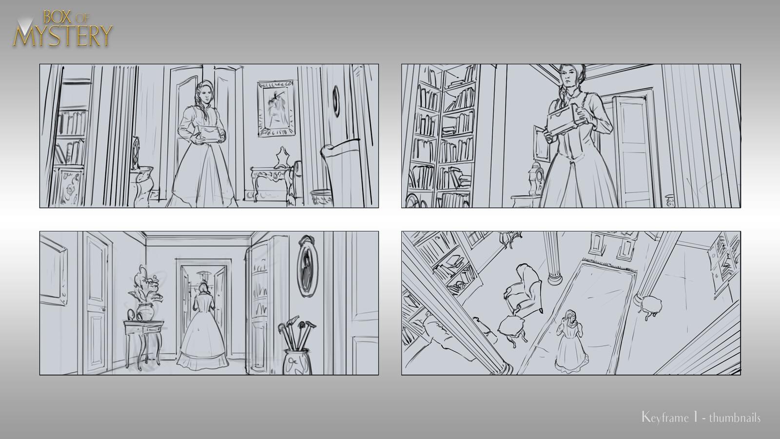 Keyframe 1 Sketches