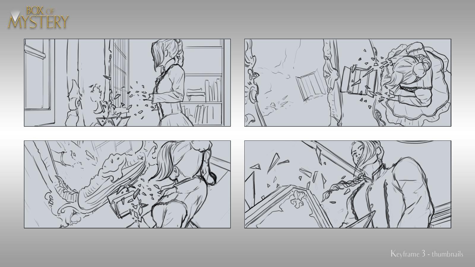 Keyframe 3 Sketches