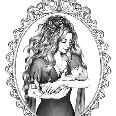 Gabriela shel witch und baby