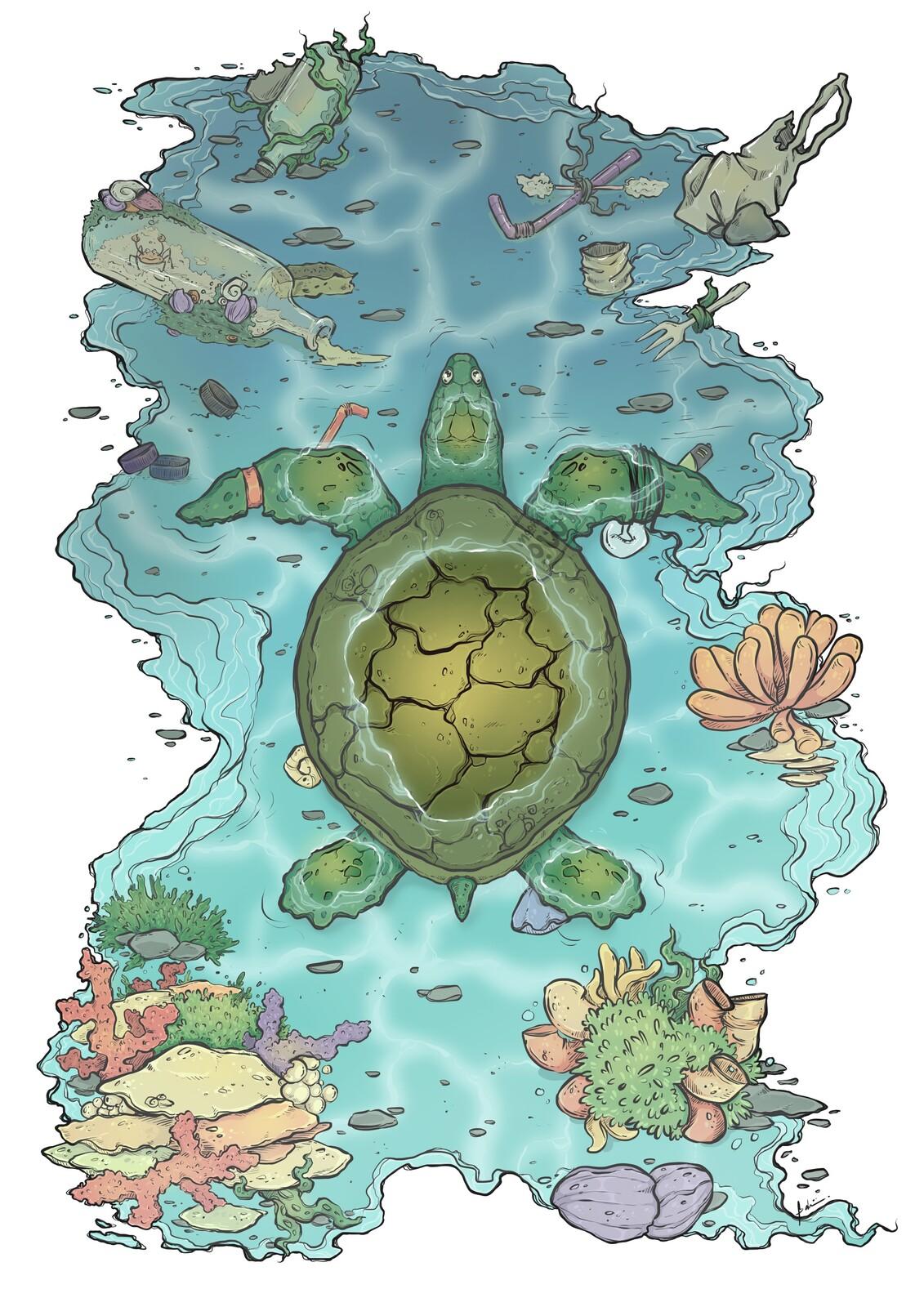 Finished digital illustration