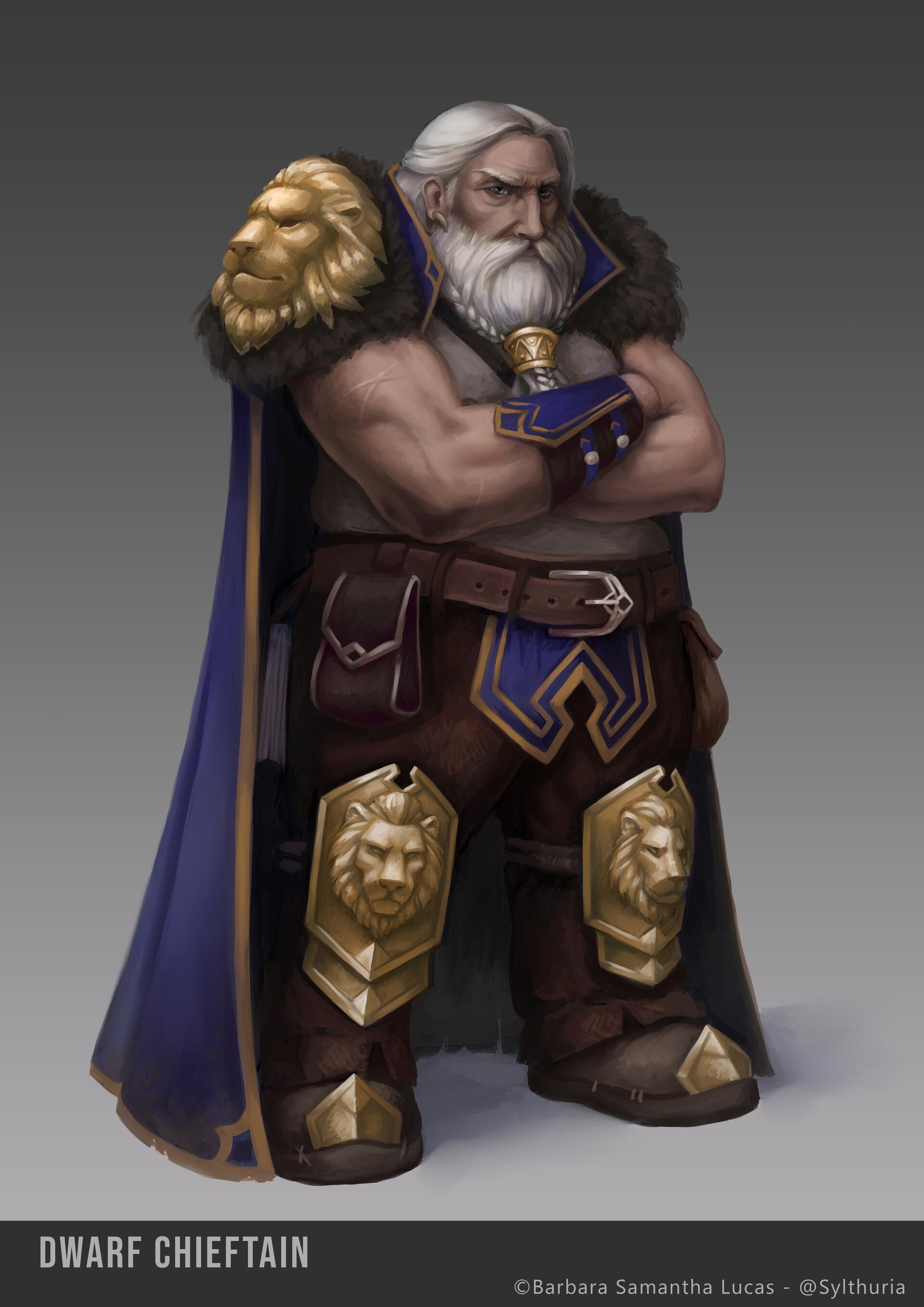 Dwarf - Character design