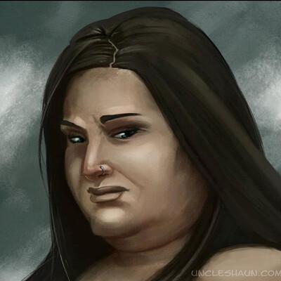Shaun lindow female portrait