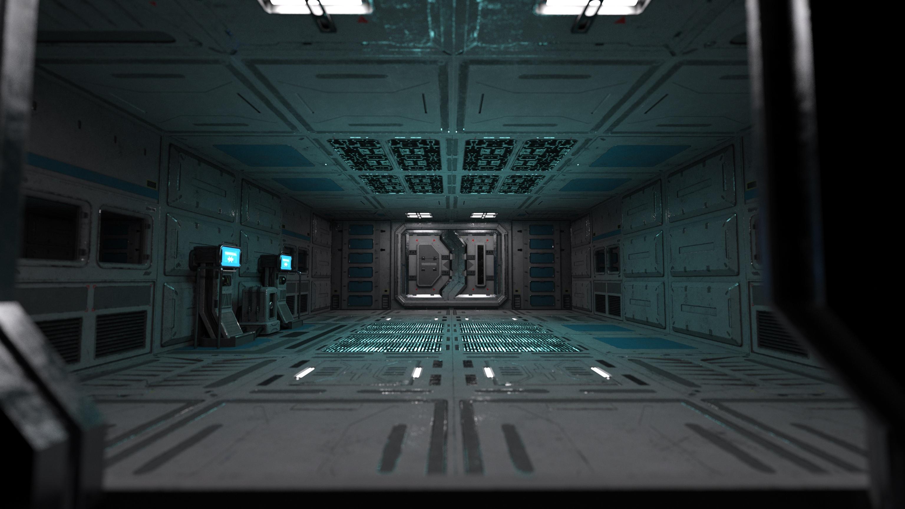 Facility interior.