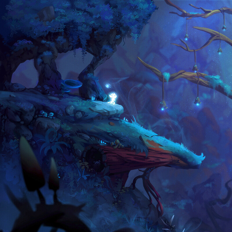 Ori and the will of the wisp - Art test