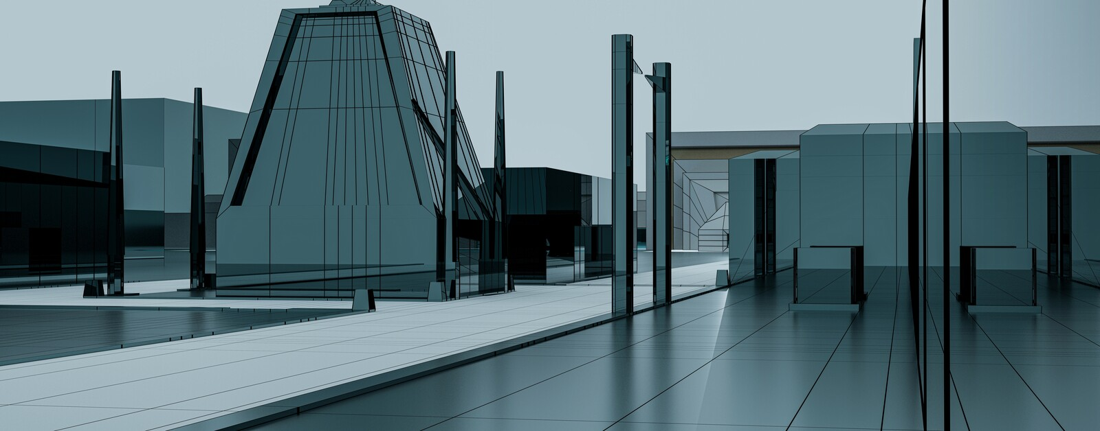 CyberSpace Archviz Architecture