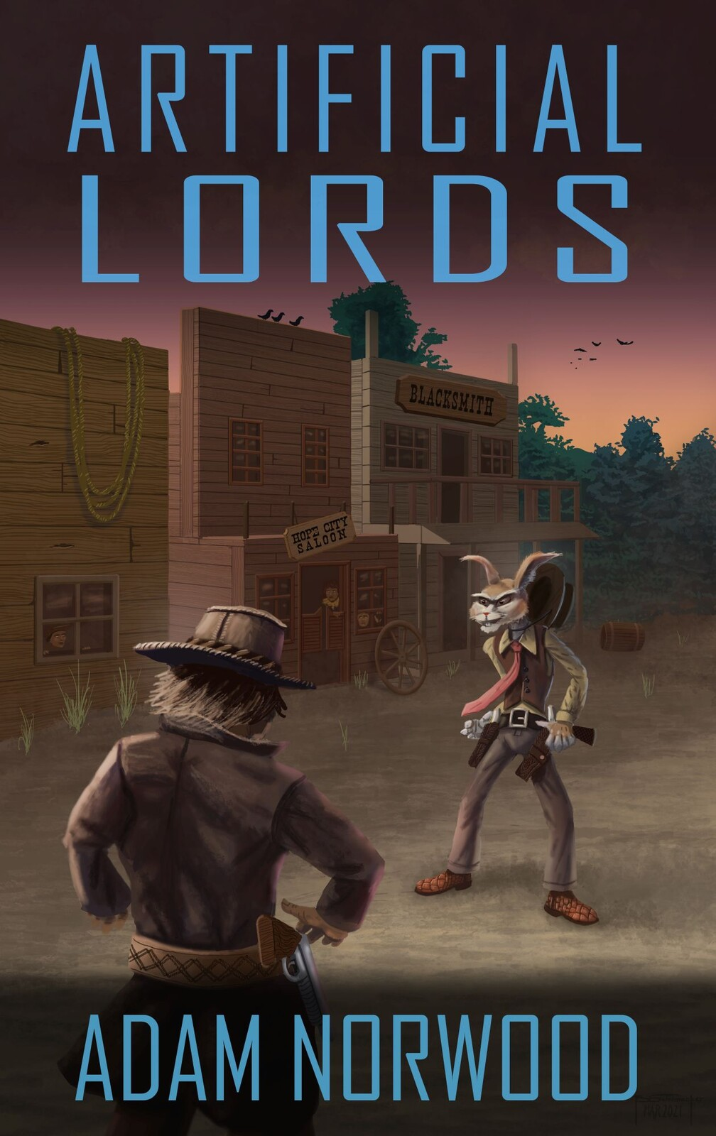 Artificial Lords - Book Cover