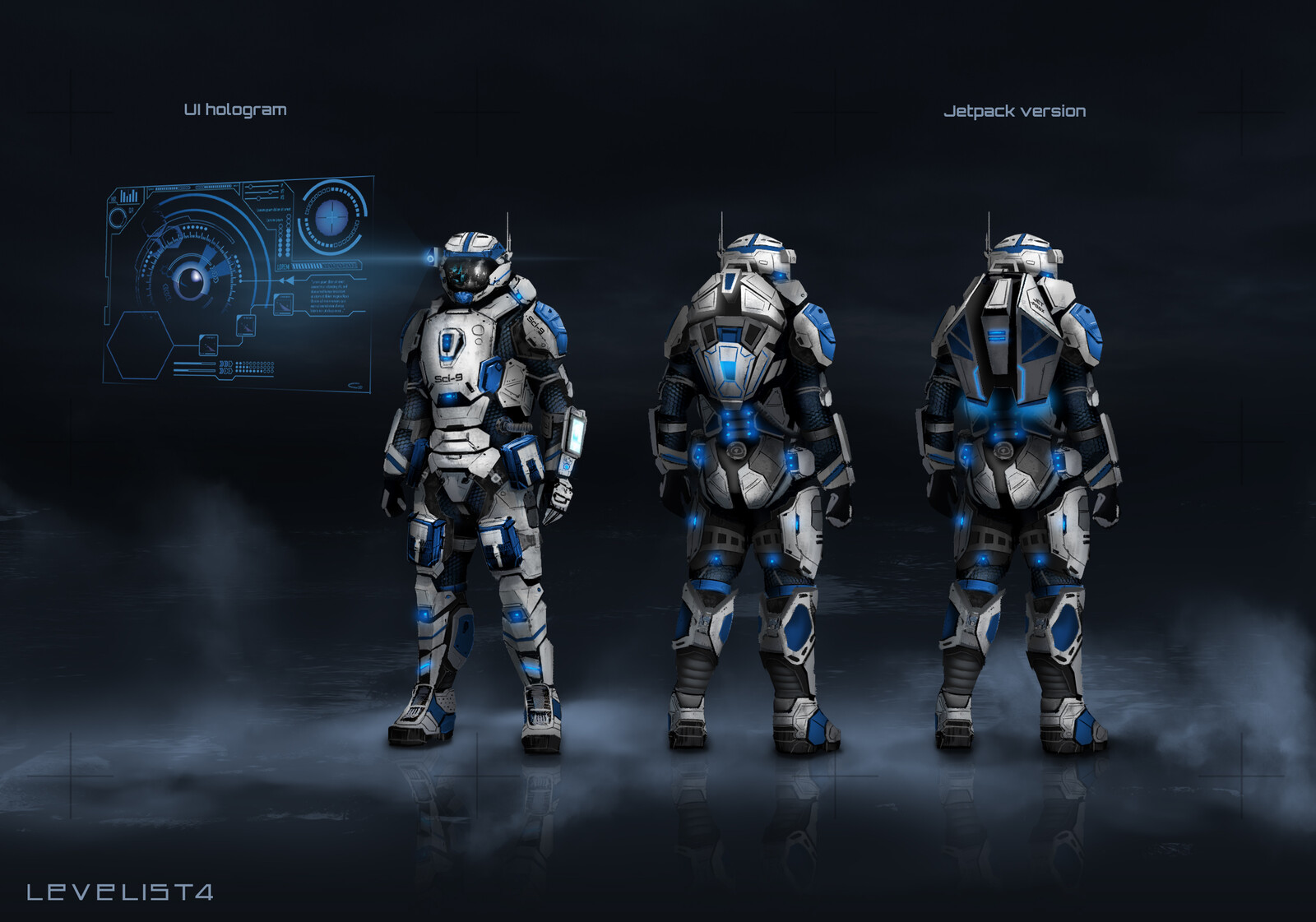 SPACE SUIT DESIGN - personal project