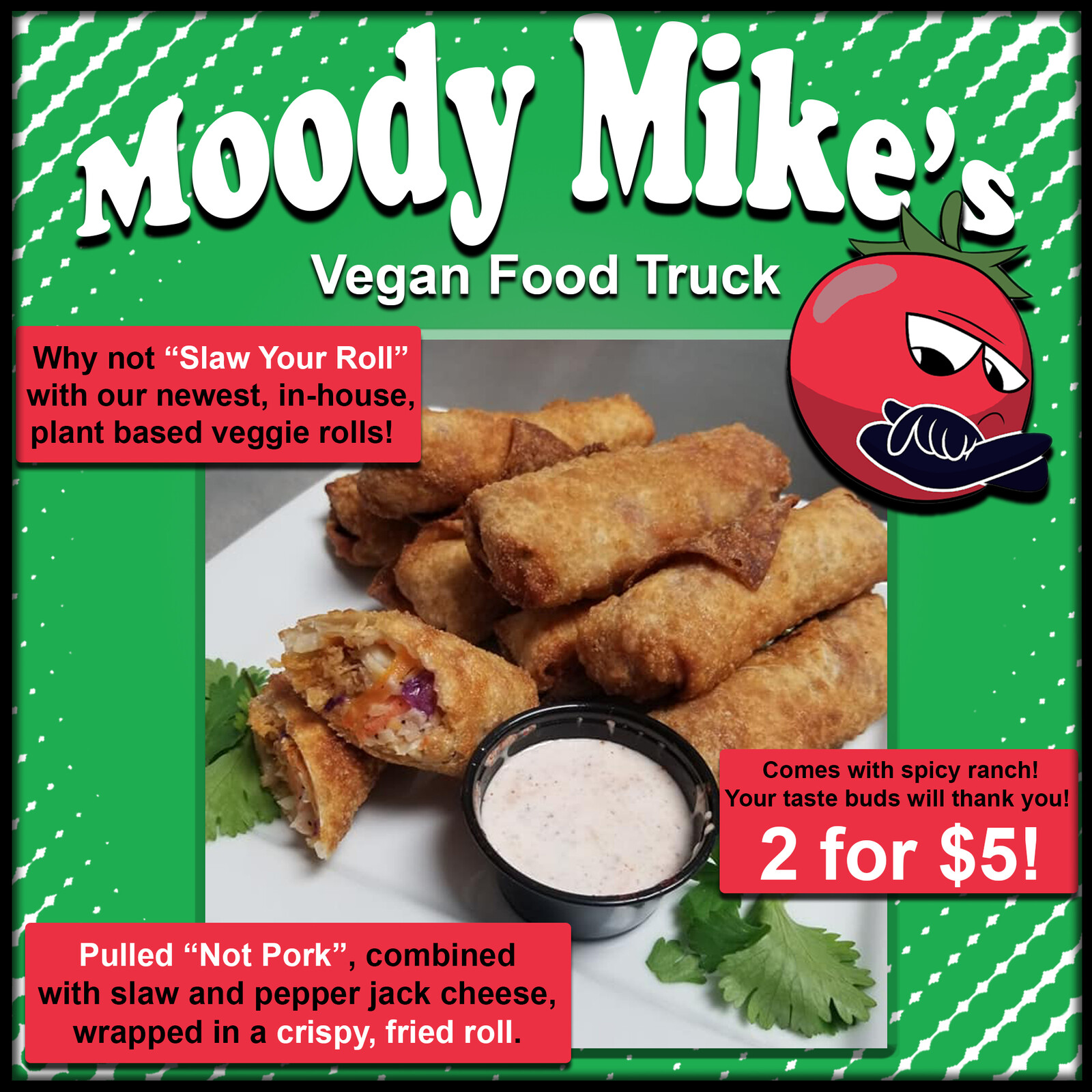 Moody Mike's Online Advert. Example #1
