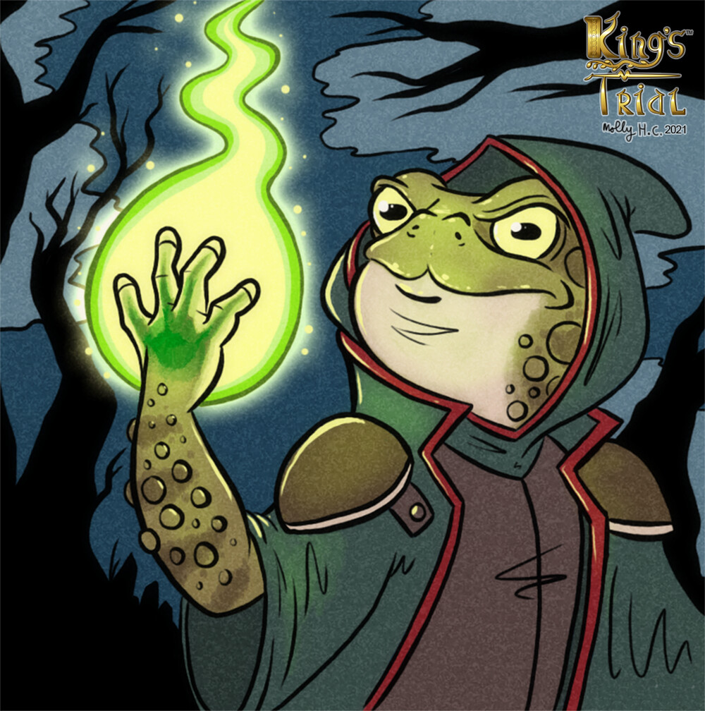 King's Trial: The Mystical Mr. Toad card illustration (2020)