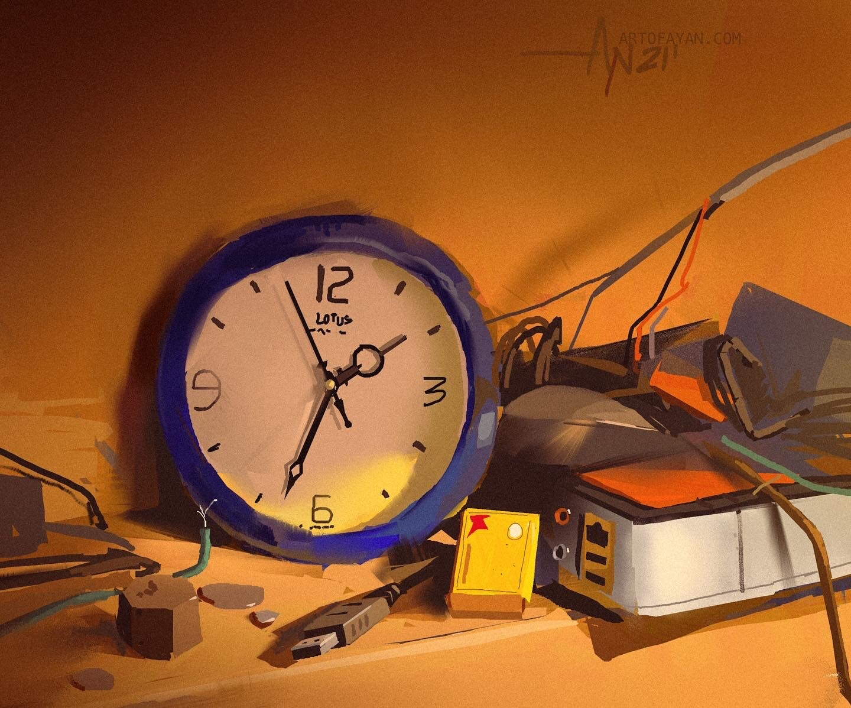 useless clock