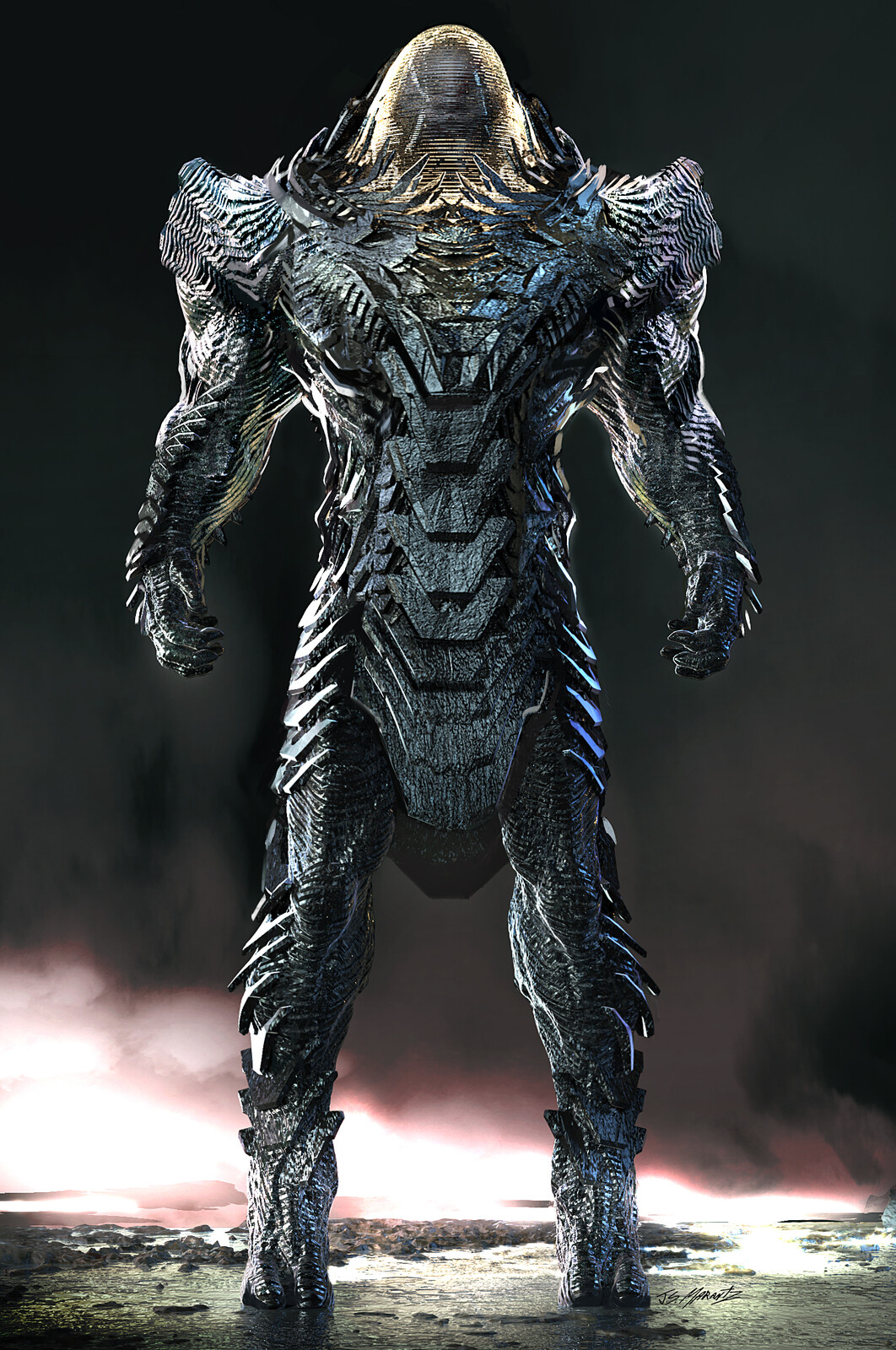 APOKOLIPSE Guard for Zack Snyder's Justice League