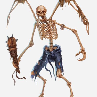 Gunship revolution skeleton harpy