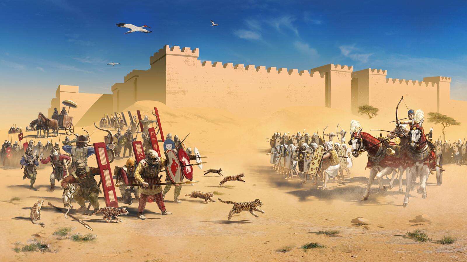 Battle of Pelusium, for World History Encyclopedia